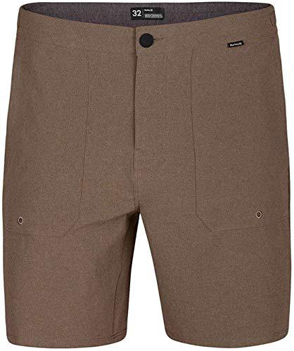 Hurley M Phantom Coastline Short 18' Walkshorts, Uomo, Khaki, 28
