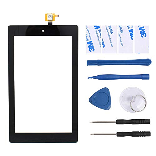 S-Union New Replacement Touch Screen Digitizer for Amazon Fire Kindle Tablet 7' 9th Gen 2019 M8S26G (Comes with Tools)