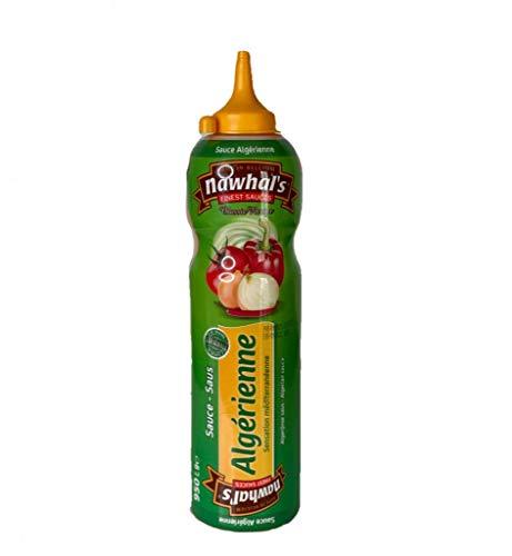 950ml Nawhals Algerienne Sauce, Original Marke Nawhal's / Belgische Sauce