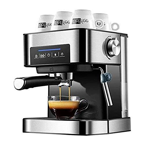 YAN QING SHOP Ekspres do kawy na stronie głównej, automatyczny, mały garnek do espresso natychmiastowy sen Mini Fancy para 20 Pa olej ciśnieniowy, bogaty w makijaż Super-Espresso 15 sekund
