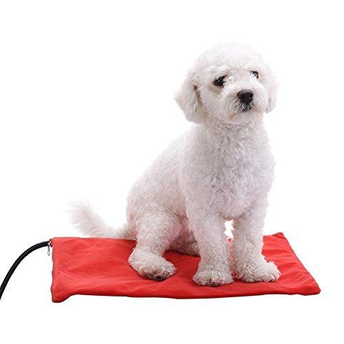 Cuscino riscaldante per animali domestici per gatti e Cani. BEROCIA: Scaldino regolabile per animali...