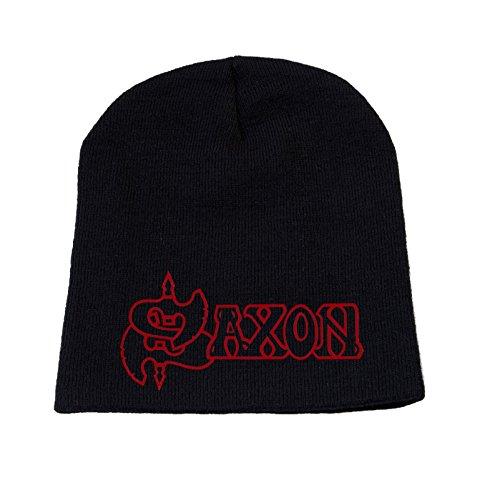 Saxon Bonnet Cap Classic Band Logo Officiel Nouveau Size One Size