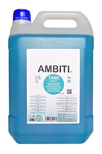 AMBITI AM300161 Ambiti Tank Fresh 5L. Zusatzstoff für den grauen Wassertank von Wohnwagen und Wohnmobil