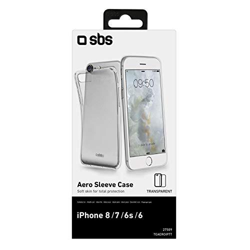Sbs - Carcasa cover aero trasparente para iphone 7