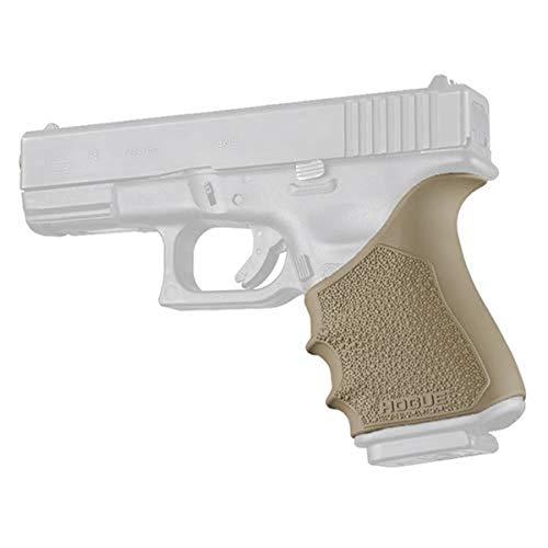 Hogue Glock 19 Gen 3-4 Flat Dark Earth Hand All Beavertail Grip Sleeve, One Size, Model: 17043