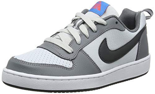 Nike Court Borough Low (GS), Scarpe da Basket Bambini e Ragazzi, Grigio (Cool Grey/Anthracite/Pure Platinum 006), 38.5 EU