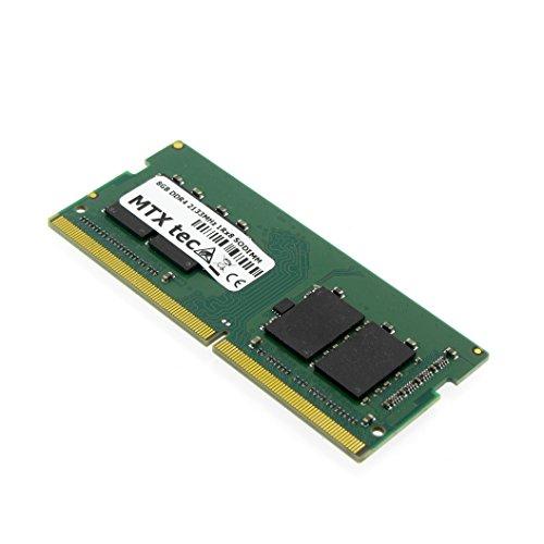 MTXtec 8GB DDR4 PC4-17000 2133MHz SODIMM 260 Pin RAM Laptop-Speicher Notebook Arbeitsspeicher