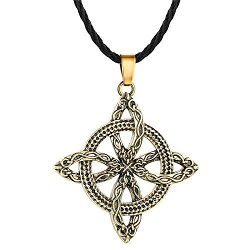 Gotische slawische Axt Halskette Anhänger Talisman nordischen Stil Wikinger Rune Retro ethnischen männlichen Schmuck Zubehör Geschenk