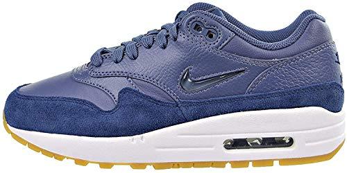 Nike Damen W Air Max 1 Premium Sc Fitnessschuhe, Mehrfarbig (Diffused Blue/Diffus 400), 38 EU