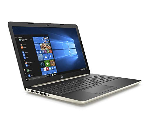 HP High Performance Laptop PC 15.6-inch HD+ Display AMD E2-9000e Processor 4GB DDR4 RAM 500GB HDD WIFI HDMI Bluetooth Webcam Sleeve&Mouse Windows 10 (Gold)