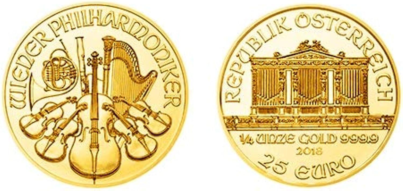 1 4 Unze Gold Wiener Philharmoniker, Goldmünze, Anlagemünze, AnlageGold, FeinGold, Edelmetall