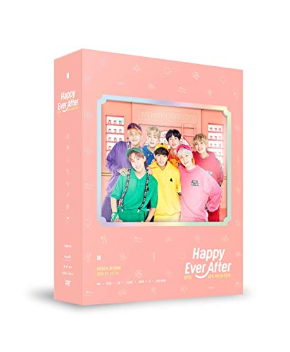 BTS BANGTAN BOYS – BTS 4. MUSTER Happy Ever After DVD 3 Discs, Fotobücher, Postkarte, Fotokarte, extra Fotokartenset