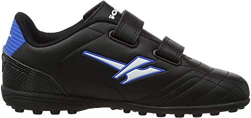 Gola Gola Magnaz Vx Twin Bar, Jungen Fußballschuhe, Schwarz (Black/Blue Blue), 28 EU (10 UK)