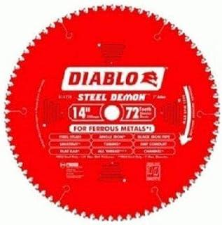 Diablo D1472CF 14-inch Steel Demon 72T Cermet II Carbide Ferrous Metal Saw Blade