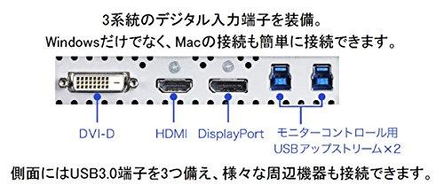 EIZO ColorEdge 27インチカラーマネージメント液晶モニター CS2730-BK(2560×1440/ノングレアIPSパネル/Quick Color Match ver2.0対応)