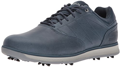 Skechers Men's Go Golf Pro 3 Lx Golf Shoe,Navy,10 M US (Skechers Go Golf Pro 2 Lx Golf Shoes)