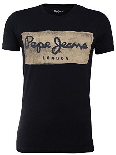 Pepe Jeans Charing Jean droit, Negro (Black 999), M para Hombre
