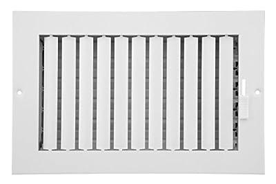 Accord Ventilation ABSWWHA104 Sidewall/Ceiling Register