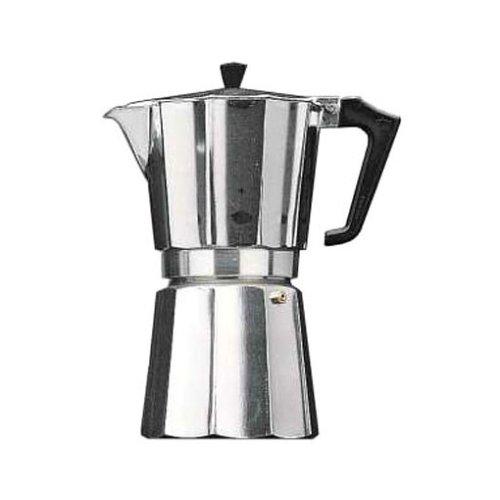 Dürkop espressokan aluminium voor 3 koppen