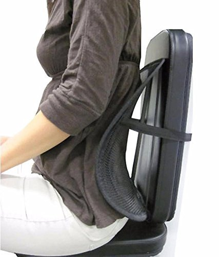 Supreme Mall Mesh Lumbar Back Support for Office Chair, Home, Car, Seat to Relieve Pain