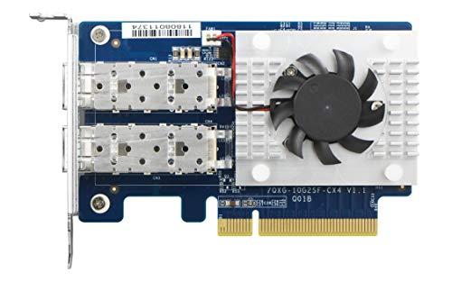 Qnap Systems QNAP Dual-Port SFP+ 10GbE Network Expansion Card Low-Profile formfactor PCIe Gen3 x8
