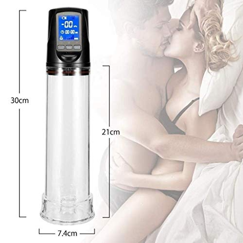 Purchase USB Rechargeable Electric Vacuum Pump 4 Suction Speeds Automatic Male P'ênis Pump Device f...