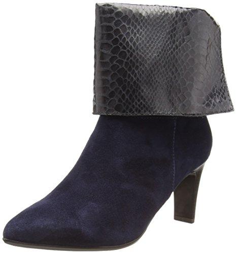 Tamaris Damen 25064 Kurzschaft Stiefel, Blau (blau, grau (NAVY/GRAPH STR 824), 40 EU