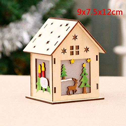 HJCWL Ledlamp, hout, huis, kantoor, tafel, decoratie, decoratie voor thuis, geschenken