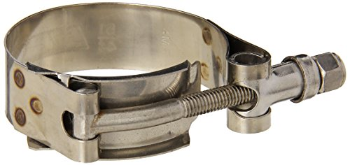 HPS Stainless Steel T-Bolt Hose Clamp Size # 28, fit 1.5' ID hose, Range: 1.73' - 2'