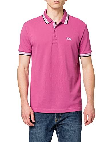 BOSS Paddy 10212415 01 Camisa de Polo, Talla Mediana Rosa 667, M para Hombre