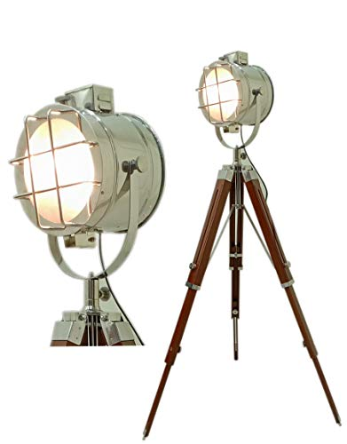 Seefahrtsstrahler Studiostativ Stehlampe Suchleuchte