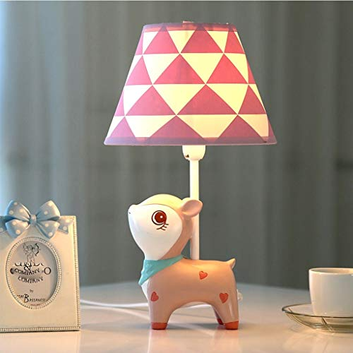 Lfixhssf Lfixhssf Leuke cartoon kinderkamer-tafellamp bedlampdecoratie, dimbaar, mooi cadeau voor jongens en meisjes, verwarmen E27 LED bureaulamp Lfixhssf