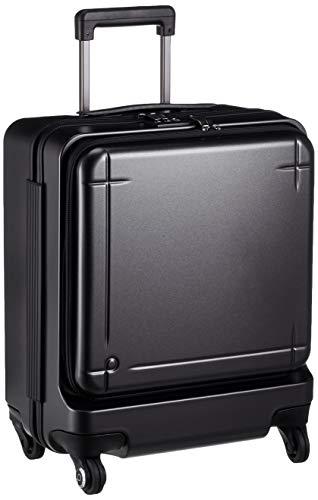 [プロテカ] スーツケース 日本製 マックスパス3 3年保証付 ストッパー付 機内持ち込み可 保証付 40L 45 cm 3.6kg ガンメタリック