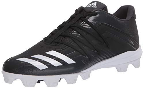 adidas mens Afterburner 6 Grail Md Cleats Baseball Shoe, Black, 8.5 US