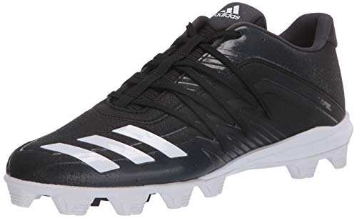 adidas mens Afterburner 6 Grail Md Cleats Baseball Shoe, Black, 10.5 US