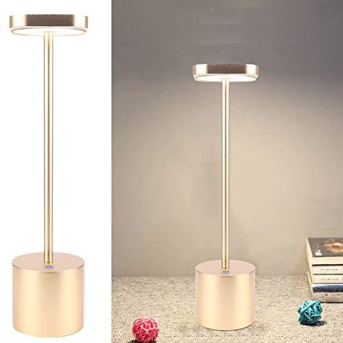 Lámpara de escritorio, Lámpara de escritorio LED IP54 para trabajar y estudiar para leer(Golden)