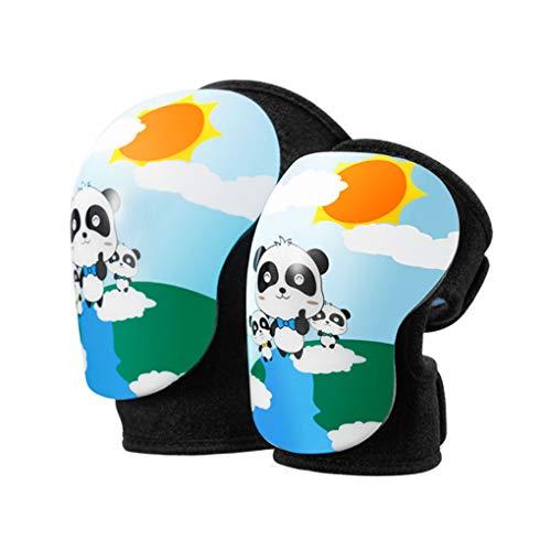 Qinghengyong Kinder Ellbogenschoner Knieschoner Kit für Kinder Radfahren Skifahren Arm-Bein-Schutz Gears Set Skateboard Ellenbogenbandage Knieschützer