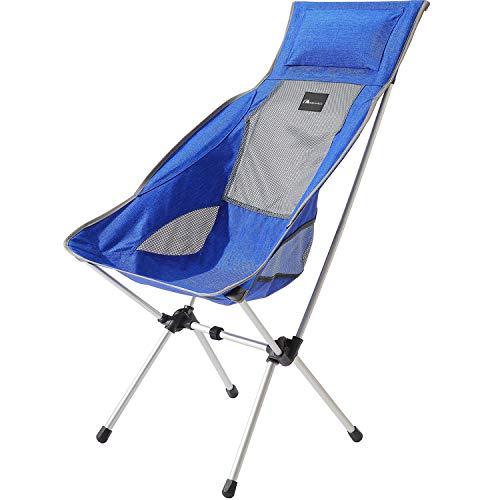 Moon Lence アウトドアチェア キャンプ椅子 背もたれ コンパクト イス 超軽量 折りたたみ 収納バッグ付き 持ち運びしやすい 耐荷重180kg