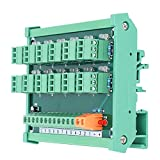 The terminal block is compact and beautiful as a whole, which will reduce installation space, very practical Using printed labels, clear at a glance, the wiring is not messy, easy for you to use Terminal block adopt switch to control output signal, s...