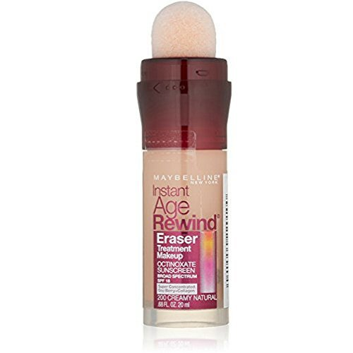 Maybelline Instant Age Rewind Eraser Foundation - Creamy Natural - 2 Pack by Maybelline