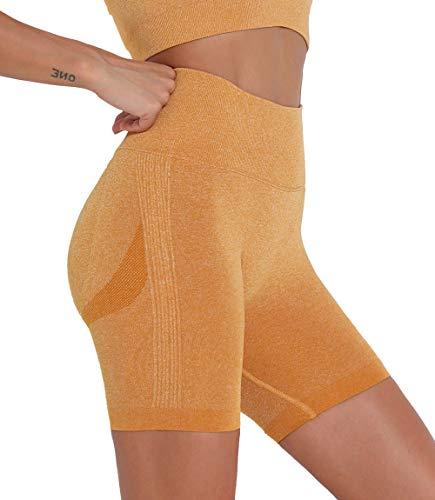 lalamelon Leggings Pantaloni Sportivi Donna Push Up Vita Alta Pants Anticellulite per Palestra Allenamento Corsa Fitness Casual