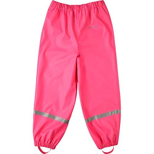 BMS BMS Regenbundhose, wasserdicht für Mädchen in Pink Größe 92