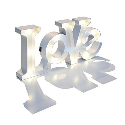 Letras LOVE luminosas - 49 CM - #DecoraTuCasa