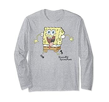 SpongeBob SquarePants Tongue Out Run Long Sleeve Tee