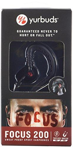 Yurbuds (CE) Focus 200 in-Ear Headphones, Black