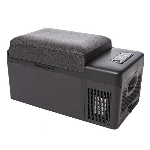 アイリスプラザ 車載冷蔵庫 ブラック 20L スピード冷却 -20℃~20℃ スマホ充電可能 PCR-20U-B
