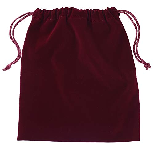 "Beautyflier Travel Hair Dryer Bags Cotton Drawstring Bag Container Hairdryer Bag Organization and Storage at Home or Travel … (11.5""x 10"" Wine Red)"