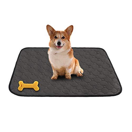 MeijieM Alfombras de Adiestramiento para Perros y Gatos - Pañales Impermeable Sanitarias Lavables y Reutilizables para Mascotas Pequeños y Medianos(60 * 45cm)