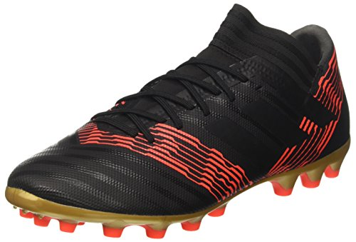 Adidas Nemeziz 17.3 AG voetbalschoenen voor heren, zwart negbas/rood 000, 40 EU
