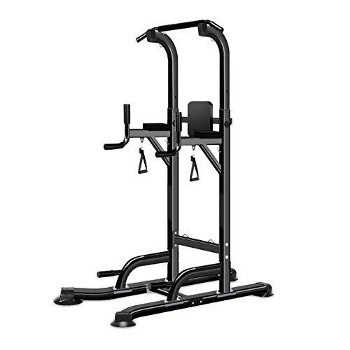 ANNA-FIT Tour de Musculation Multifonction, Chaise Romaine, Fitness pour Un entraînement varié à la Maison. Barre de Traction réglable, Poignées, Barre de dips